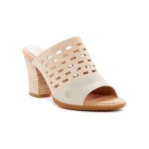 Born Agenta Mule Sandals - size 8